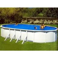Овальный бассейн Atlantic pool Esprit-Big (10х5.5х1.35). Наземный / Вкапываемый