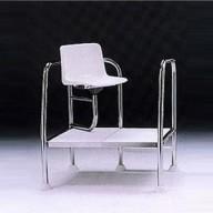 Кресло спасателя из нержавеющей стали AISI-304 Astral (высота 400 мм)