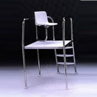 Кресло спасателя из нержавеющей стали AISI-304 Astral (высота 1000 мм)