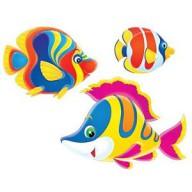 Магниты декоративные - рыбки для сборных бассейнов Game (комплект 6 шт)