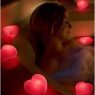 Сердце плавающее со светодиодной подсветкой Game