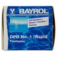 Таблетки для замера свободного брома и хлора Bayrol DPD №1/Rapid (10 штук)