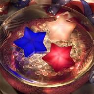 Звезда плавающая со светодиодной подсветкой Game
