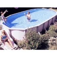 Овальный бассейн Esprit, размеры 5,5 х 3,7 м