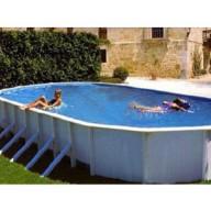 Овальный бассейн Esprit, размеры 7,3х3,7х1,32 м